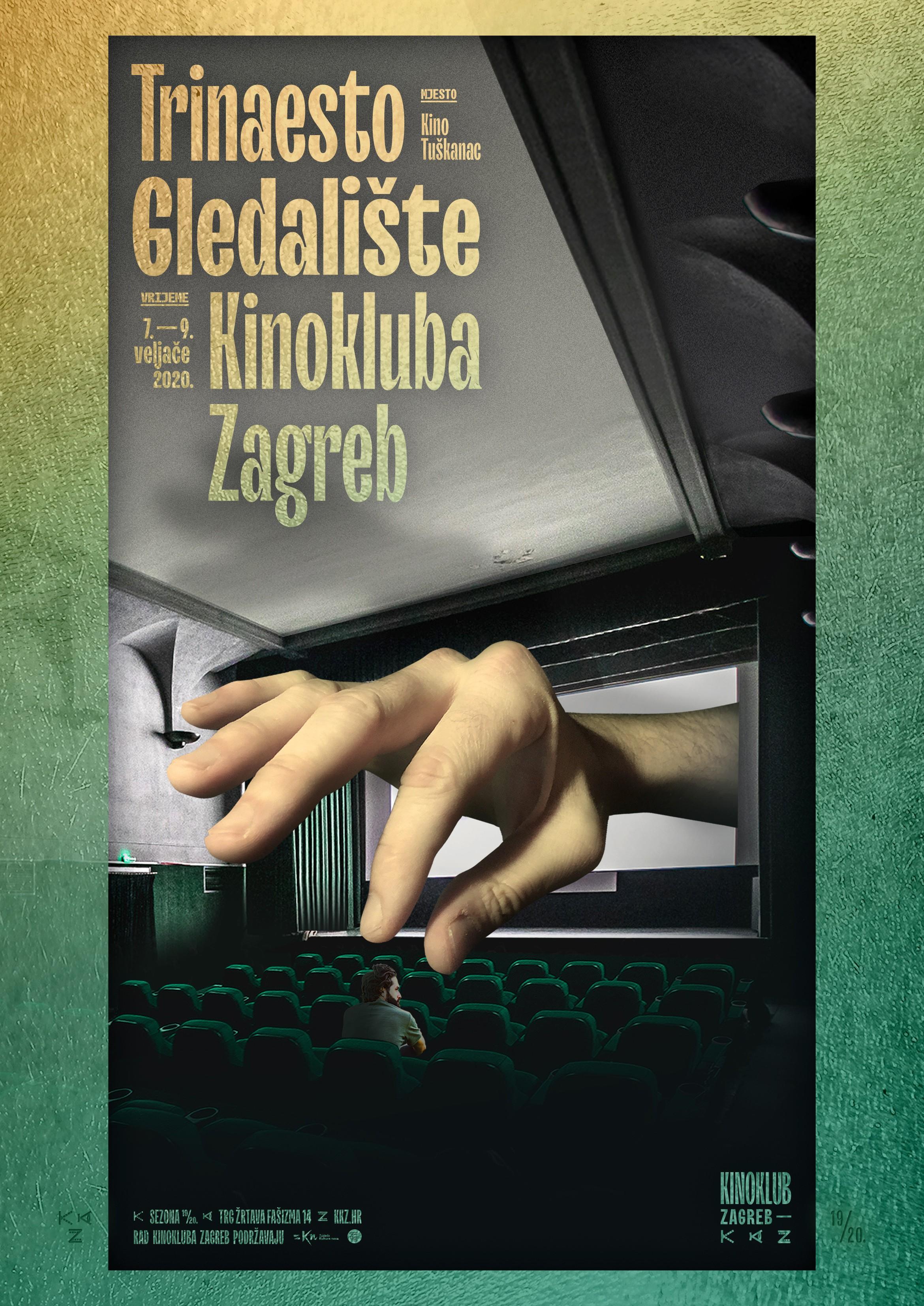 Svi filmovi Kinokluba Zagreb na 13. Gledalištu